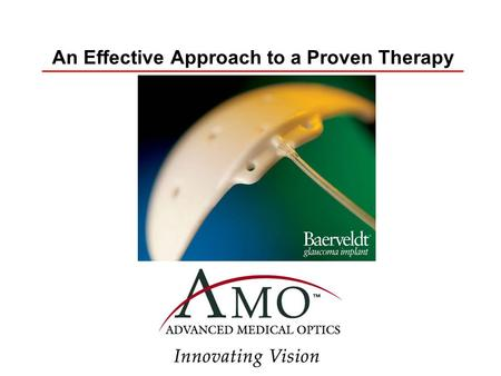 An Effective Approach to a Proven Therapy