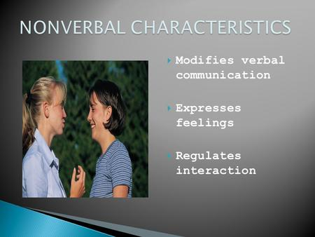 Nonverbal Communication Essay