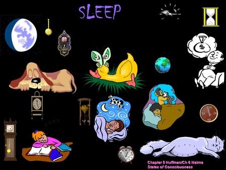 SLEEP Chapter 5 Huffman/Ch 6 Nairne States of Consciousness.