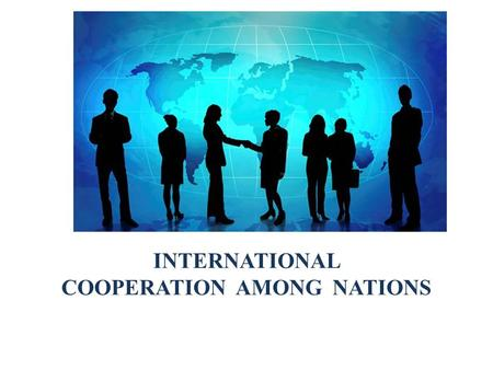 INTERNATIONAL COOPERATION AMONG NATIONS. CHAPTER 6: INTERNATIONAL COOPERATION AMONG NATIONS LEARNING OBJECTIVES To explain the importance of GATT to international.