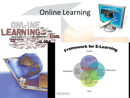 Online Learning. Online learning Moodle https://moodle.org/https://moodle.org/ Rcampus  District sites Virtual schools Alberta.