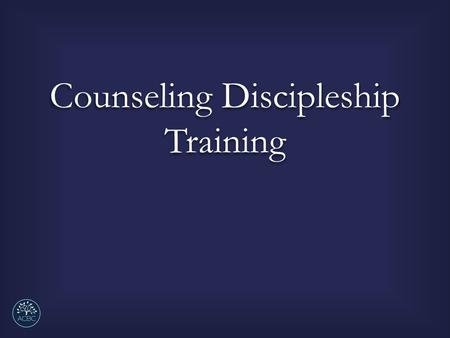 Counseling Discipleship Training. Giving Homework of Counseling According to the Phases and Stages of Change.