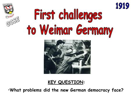 explain why 1923 was a difficult year for the weimar republic essay The weimar republic faced many problems perhaps the greatest danger was 'the weakness within'  what problems faced the weimar government 1919–1923 (ilrim) 1.