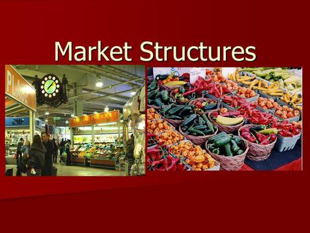 marketing structures and maximizing profits Assignment: maximizing profits in market structures paper university of phoenix xeco 212 (4 pages | 1744 words) the structure of a market is defined by the number of firms in the market, the existence or otherwise of barriers to entry of new firms, and the interdependence among firms in determining pricing and output to maximize profits.