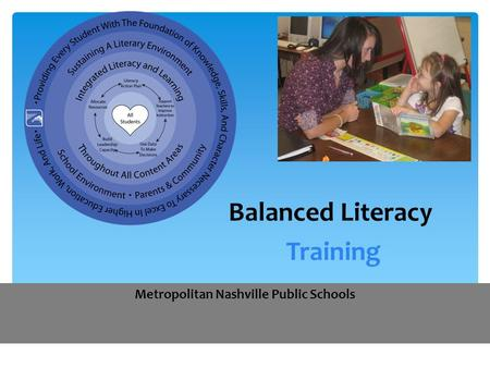 Balanced Literacy Training
