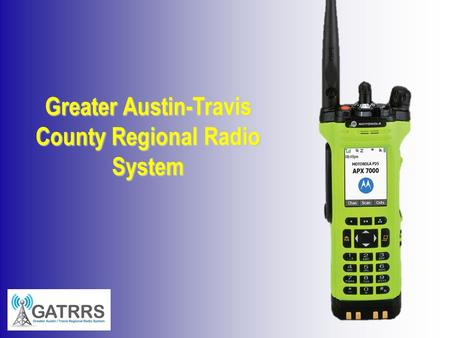 Greater Austin-Travis County Regional Radio System