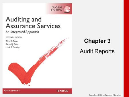 Chapter 3 Audit Reports 1.