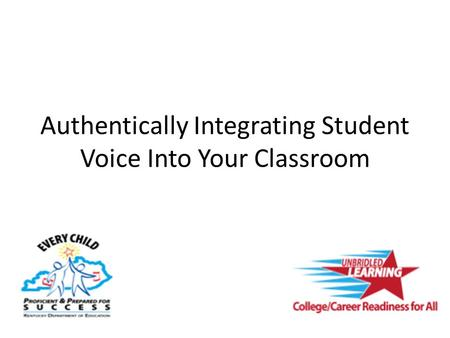 Authentically Integrating Student Voice Into Your Classroom