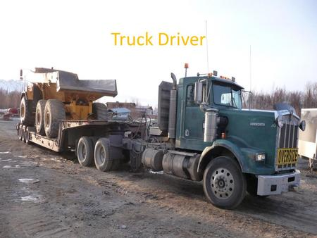 Truck Driver. How to become a truck driver First off you need to graduate from high school and have your diploma. Most of the time you will need but there.