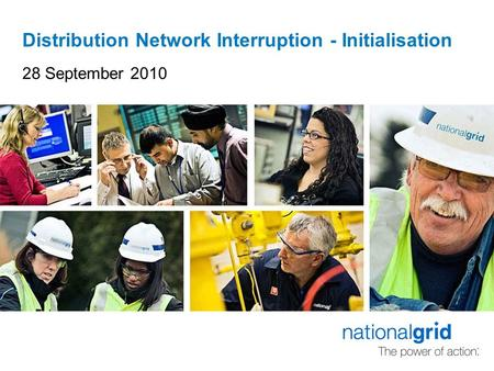 Distribution Network Interruption - Initialisation 28 September 2010.