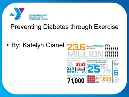 Preventing Diabetes through Exercise By: Katelyn Cianelli.