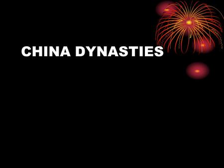 CHINA DYNASTIES. Events Outside of China at the Same Time Outside Dynasty Egypt Neolithic, Shang Assyria Zhou Greece Qin Roman Empire Han Dark Ages.