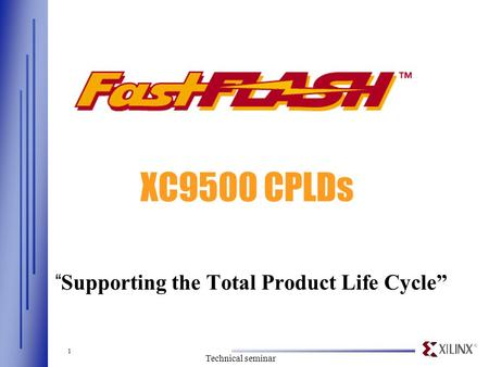 """Supporting the Total Product Life Cycle"""