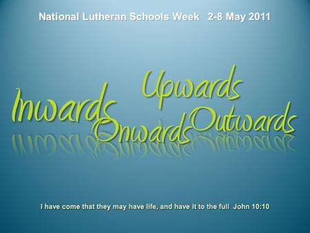 Students, staff and school communities of Lutheran schools across Australia are invited to celebrate National Lutheran Schools Week – a week of celebrating.