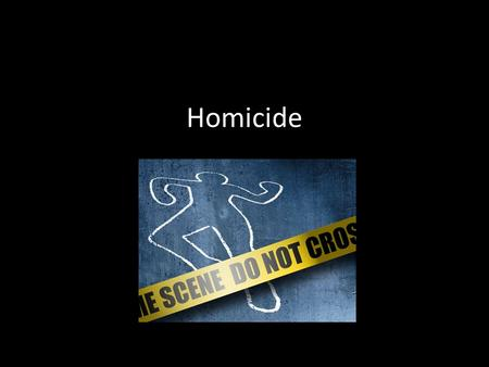 "Homicide. Considered a ""Crime Against the Person"" CAP include the following: 1. homicide 2. rape 3. assault/battery CAPs have degrees of severity (depending."