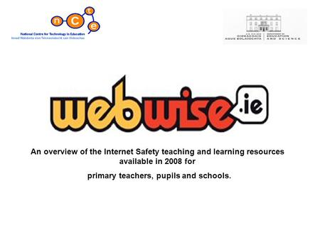 An overview of the Internet Safety teaching and learning resources available in 2008 for primary teachers, pupils and schools.