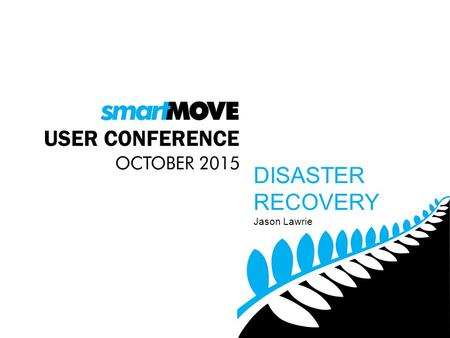 Jason Lawrie DISASTER RECOVERY. SINGLE FLEET + RADIO DISPATCHING.