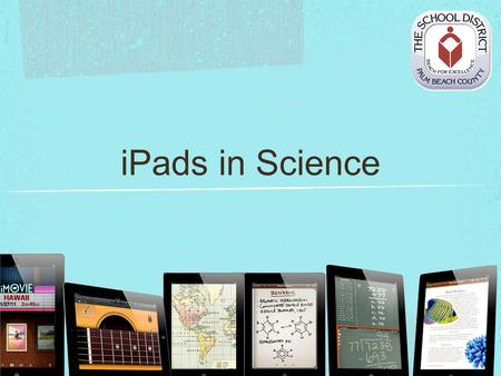 IPads in Science. Introductions Melissa Lander Educational Technology.