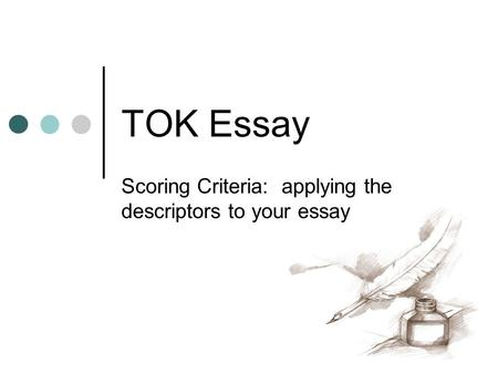 Theory of Knowledge Essay Tutor