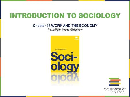 INTRODUCTION TO SOCIOLOGY Chapter 18 WORK AND THE ECONOMY PowerPoint Image Slideshow.