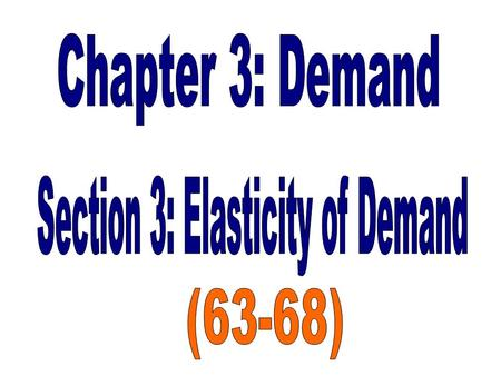 Degree to which changes in a good's price affect the quantity demanded by consumers.