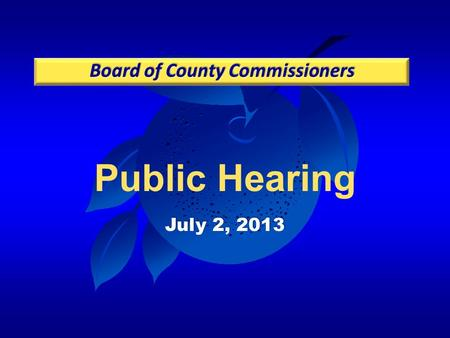 Public Hearing July 2, 2013. Background Proposed Code Revisions Action Requested Holden Heights Ordinance Update.