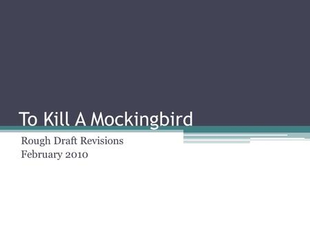 an overview of the characters in the novel to kill a mockingbird by harper lee Background information on harper lee, the author of the book to kill a mockingbird.