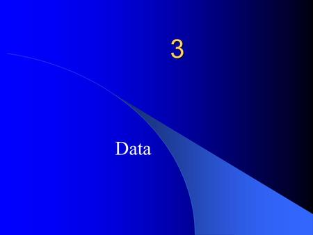 3 Data. Software And Data Data Data element – a single, meaningful unit of data. Name Social Security Number Data structure – a set of related data elements.