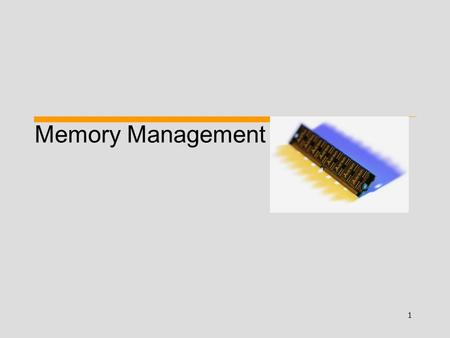 1 Memory Management. 2 Fixed Partitions Legend Free Space 0k 4k 16k 64k 128k Internal fragmentation (cannot be reallocated) Divide memory into n (possible.