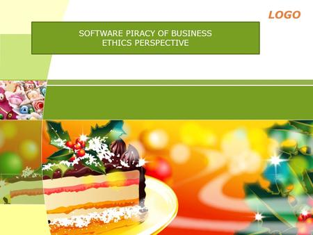 LOGO SOFTWARE PIRACY OF BUSINESS ETHICS PERSPECTIVE.
