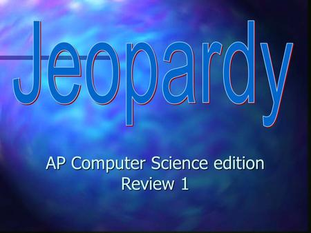 AP Computer Science edition Review 1 ArrayListsWhile loopsString MethodsMethodsErrors 100 200 300 400 500 100 200 300 400 500 100 200 300 400 500 100.