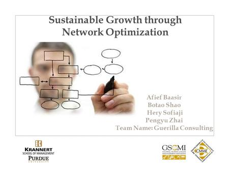 Sustainable Growth through Network Optimization Afief Baasir Botao Shao Hery Sofiaji Pengyu Zhai Team Name: Guerilla Consulting.