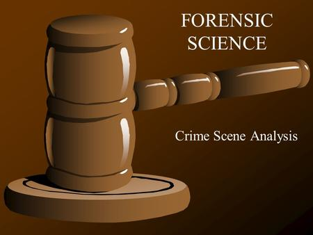 An analysis of the several forensic science branches