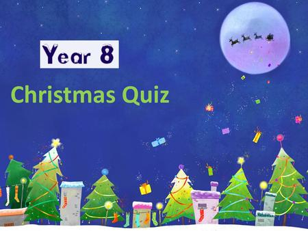 Christmas Quiz. Question 1 At 6pm on Christmas Eve, the temperature is 3°C. By midnight, it has fallen by 9°C. What is the temperature at midnight?