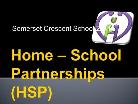 Somerset Crescent School 2011. What and Why?? THE BIG QUESTION! Consider what we already do to foster strong HSP Find out how we as a school can improve.