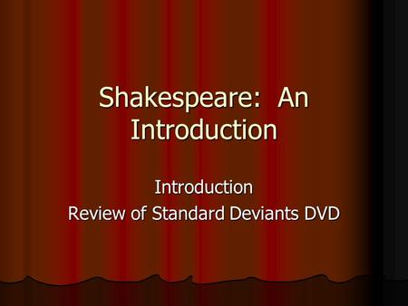 an overview of the work by william shakespeare and the influence on literature Shakespeare's influence on renaissance  shilling received a master of arts and phd in comparative literature from princeton  how did william shakespeare .