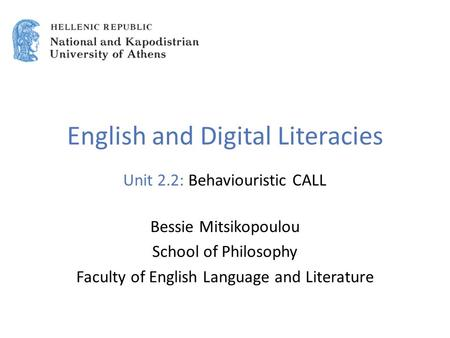 Applied Linguistics to Foreign Language Teaching and ...