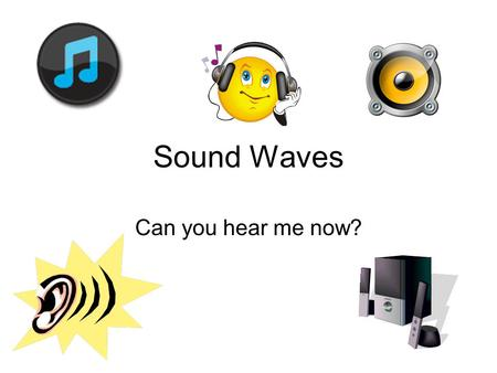 Sound Waves Can you hear me now?. Wave Review Sound is a Longitudinal Wave- it moves back and forth like a spring. Sound is a Mechanical Wave- it needs.