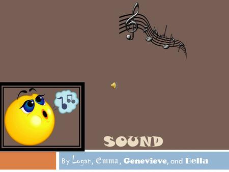SOUND By Logan, Emma, Genevieve, and Bella. Headphones  Sometimes at music concerts or airports musicians or workers wear earplugs to not hear all the.