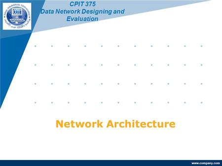 Data Network Designing and Evaluation