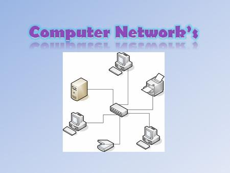 A computer network is a connection of many computers and many devices that are connected by communication channels.