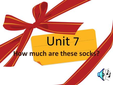 Unit 7 How much are these socks?. Period 1(1a-2d) Learning aims: (学习目标) 1.can use these words: socks T- shirts skirt shorts trousers shoes 2.Talk about.