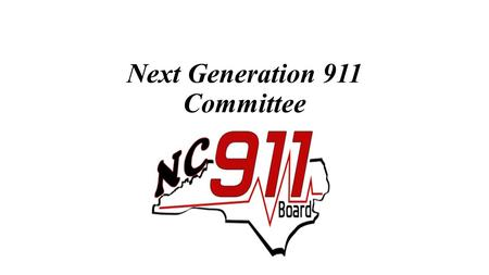 Next Generation 911 Committee. Text-to-911 Next Generation 911 Committee Technical Support RFP.