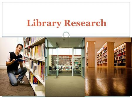 Library Research Library research is an important part of research. You can often find scholarly journal articles or books at a college/university library.