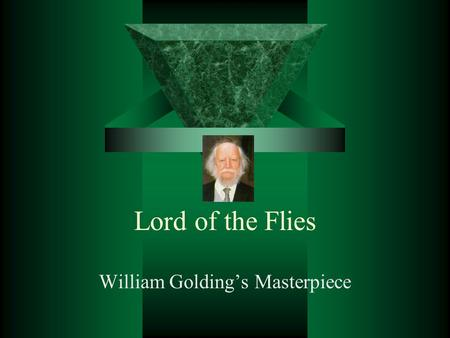 a summary of the story of lord of the flies by william golding About william golding: sir william gerald golding was a british novelist, poet, and playwright best known for his 1954 novel lord of the flies golding.