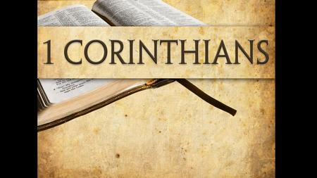 "1 Corinthians letter info From: Paul and Sosthenes To: Church of God at Corinth Salutation: ""with my own hand—Paul's"""