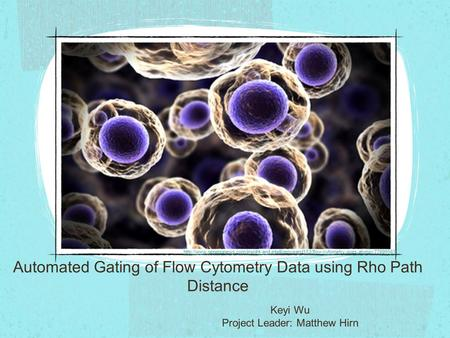 Automated Gating of Flow Cytometry Data using Rho Path Distance