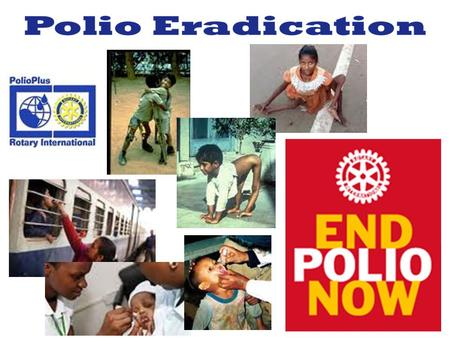 Friday, October 26, 2012 - All aboard for a polio-free world! Express train to raise awareness for polio eradication.