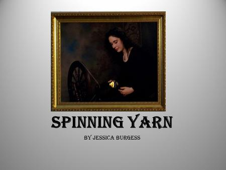 Spinning Yarn By Jessica Burgess. Common Wool Producers Sheep Llama.