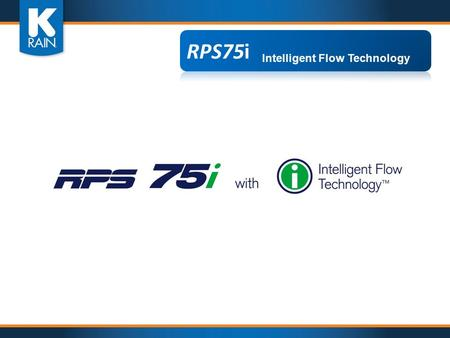 Intelligent Flow Technology. Adjusting Distance While Simultaneously Adjusting Flow Rate Intelligent Flow Technology.